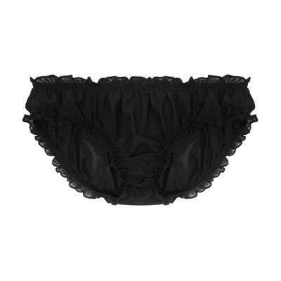 Low Rise Mesh Knickers | Barbara by Hopeless Lingerie