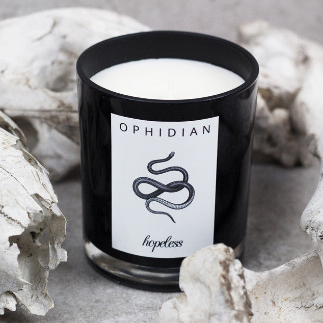 Ophidian Soy Wax Candle by Hopeless Lingerie