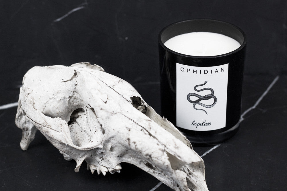 Soy Wax Candle | Ophidian by Hopeless Lingerie