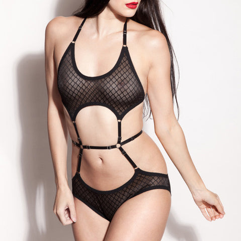 See Through Bodysuit | Alexis by Hopeless Lingerie