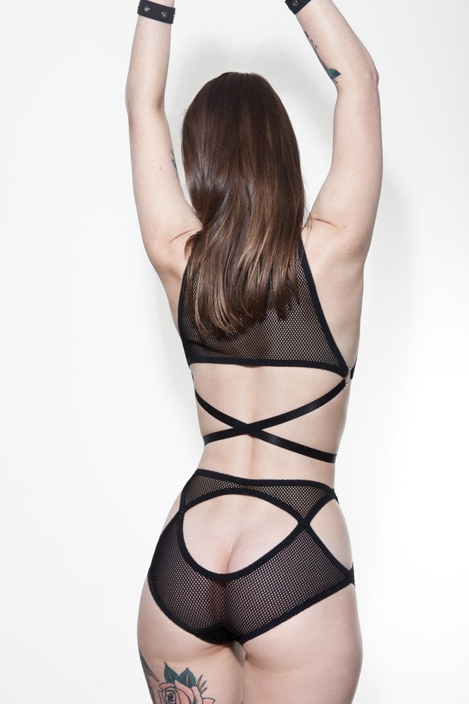 Cut Out Underwear & Bralette | Claudia & Rosie by Hopeless Lingerie