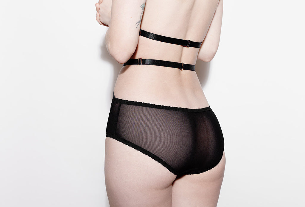 Strappy See Through Panties | Carrie by Hopeless Lingerie