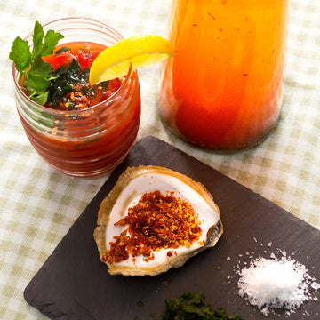 Chai Infused Bloody Mary by East Cliff Kitchen
