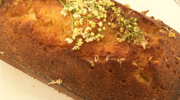 Lemon & Elderflower Drizzle Cake Recipe