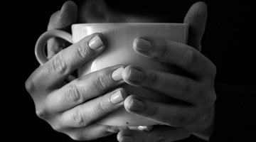 Tea Cup Warming Hands