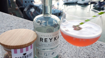 Zest Tea Cocktail Series: Rock & Rose (Vegan Friendly)