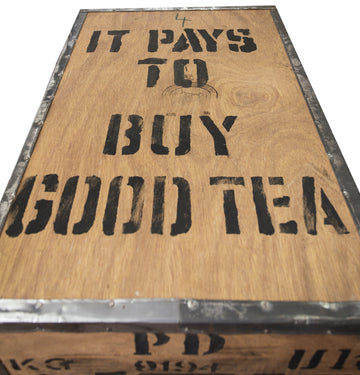 It pays to buy good tea - but not if your waters unfiltered!
