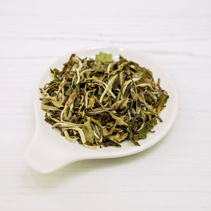 White Peony (Bai Mu Dan) White Tea Loose Leaf
