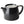 Forlife Stump Teapot - Black