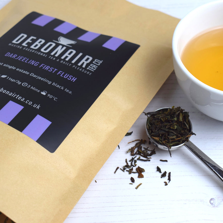 Darjeeling First Flush Tea in Compostable Pouch