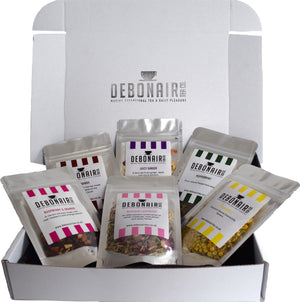 Debonair Tea Caffeine Free Sample Selection