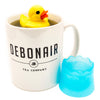 Rubber duck infuser in cup