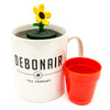 Sunflower infuser floating