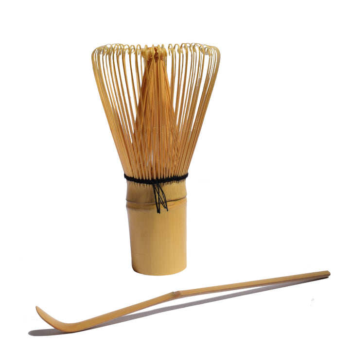 Bamboo Matcha Whisk and Spoon Set