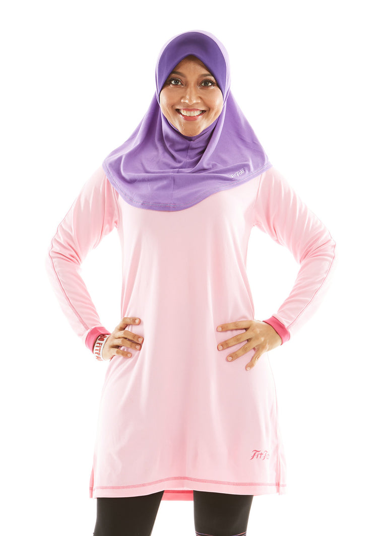 ACTIVEwear Muslimah Light Rose