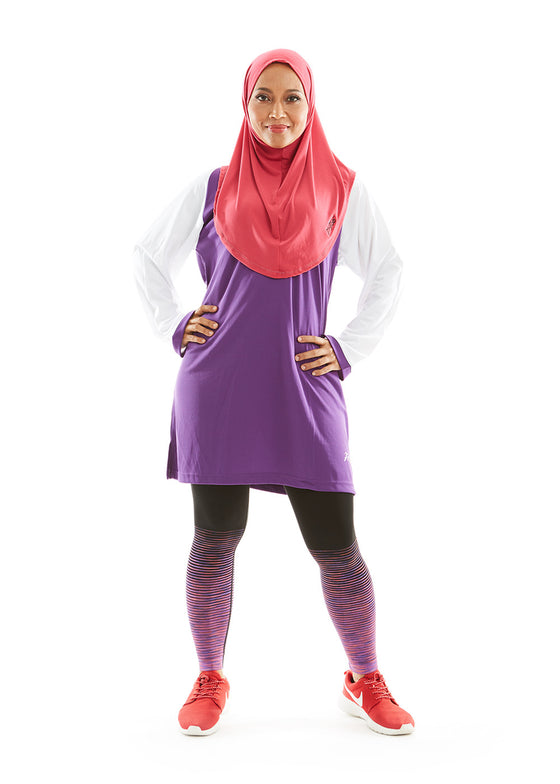 ACTIVEwear Muslimah Lilac Lavender