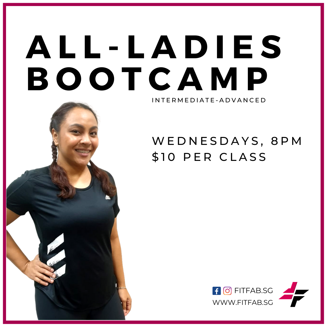 All-Female Bootcamp with Coach Aisyah