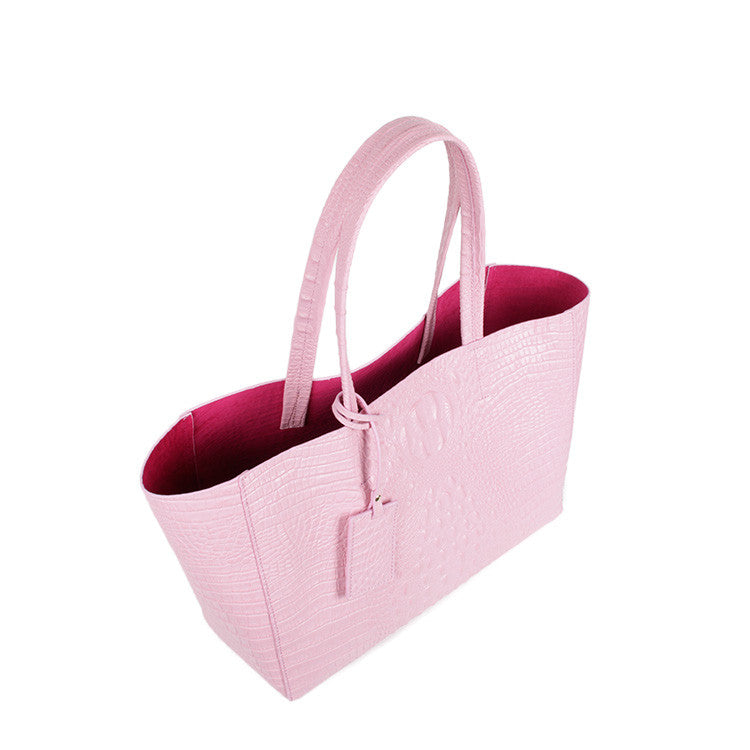 Exclusive Nawal Tote in Bubblegum Pink