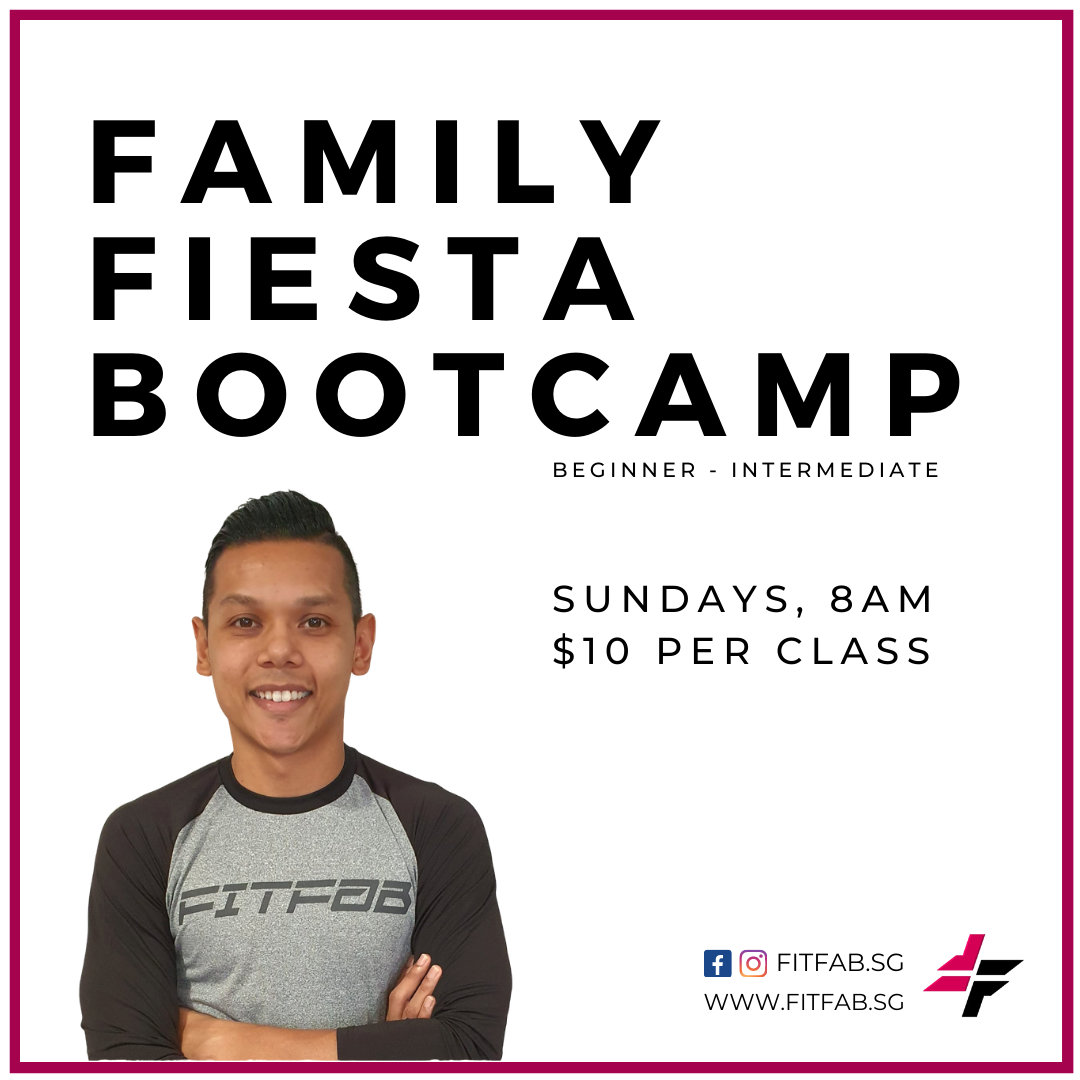 Family Fiesta Bootcamp with Coach Syaqir