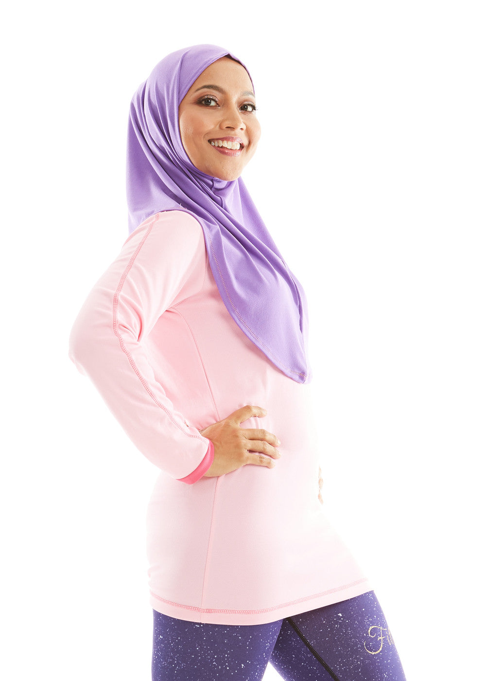 ACTIVEwear Ladies Extended Light Rose