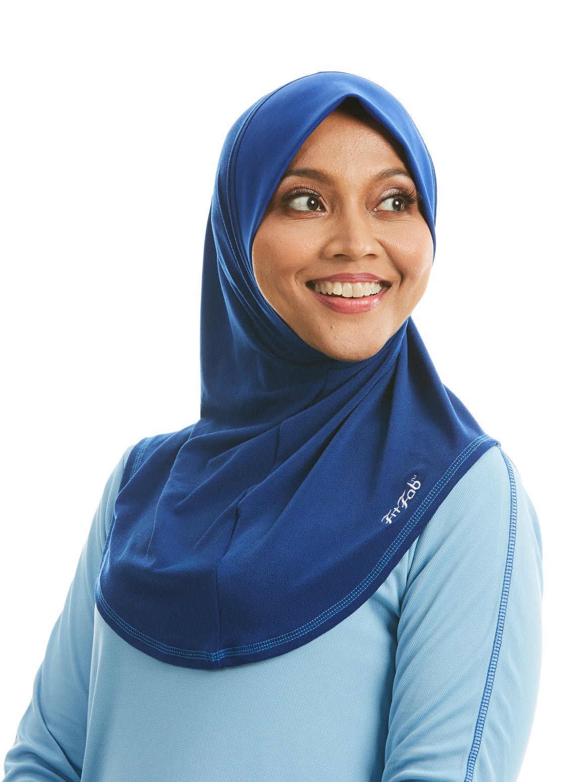 Sporty Hijab Marine Cobalt with Awning