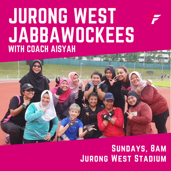 Jurong West Jabbawockees Bootcamp with Coach Aisyah