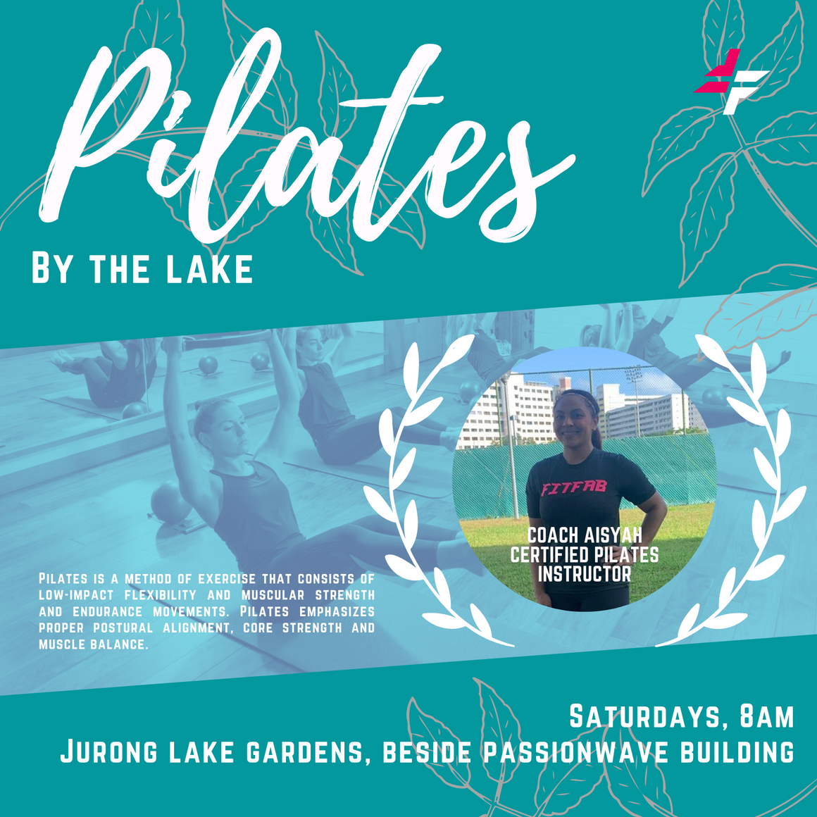 Pilates By The Lake With Coach Aisyah