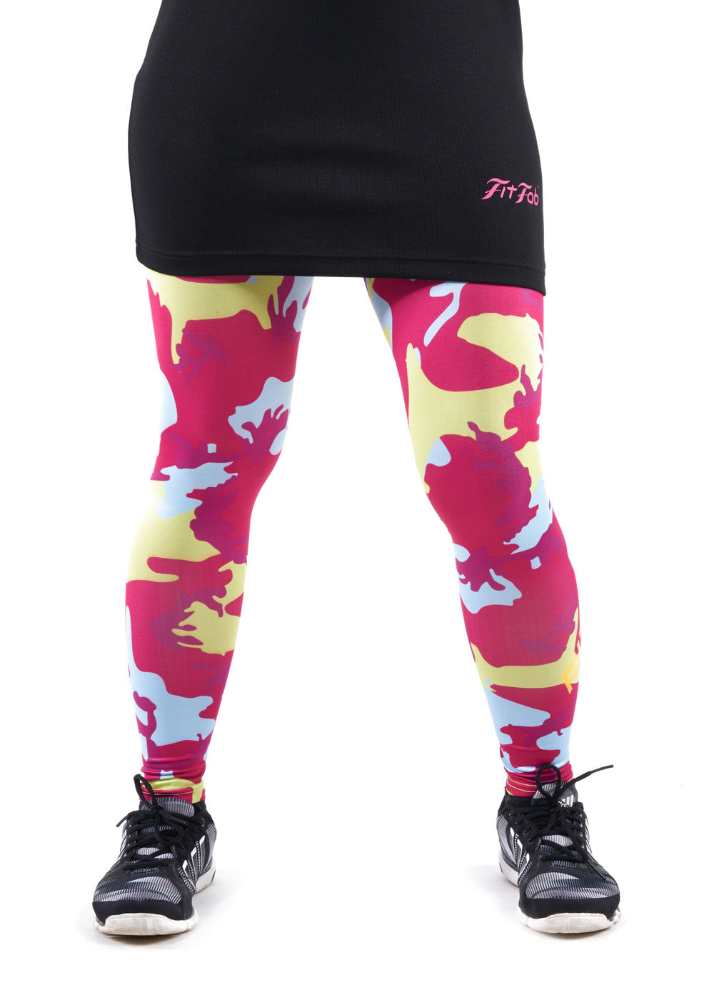 Candy Red Mash Tights
