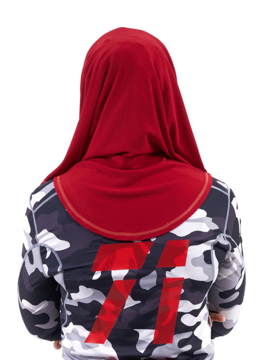 Sporty Hijab Cherry Pop no Awning