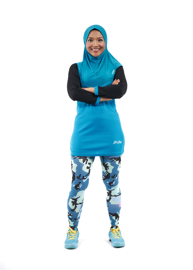 ACTIVEwear Ladies Persian Blue