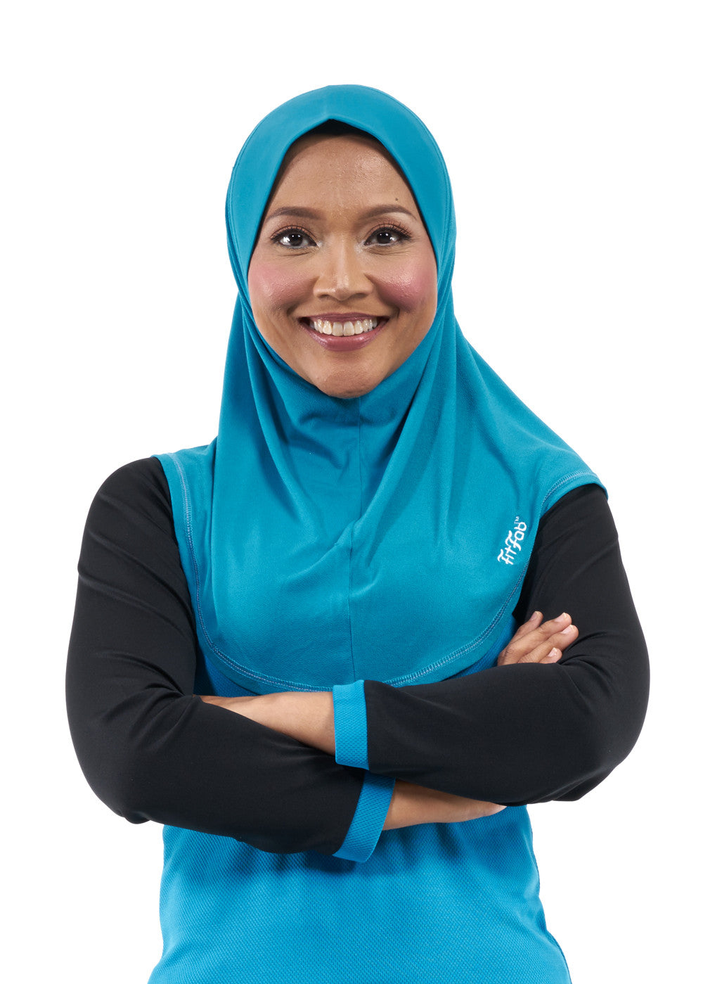 Sporty Hijab Ocean Breeze with Awning
