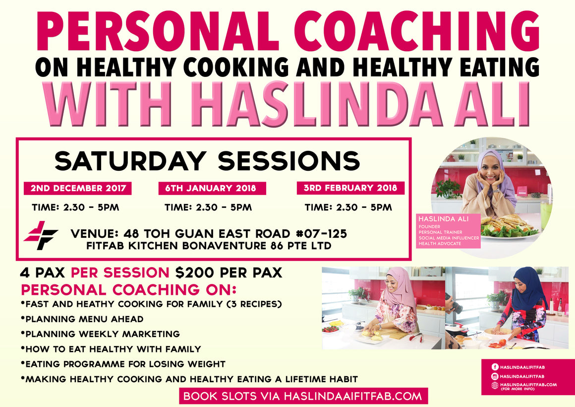 Healthy Cooking With Haslinda