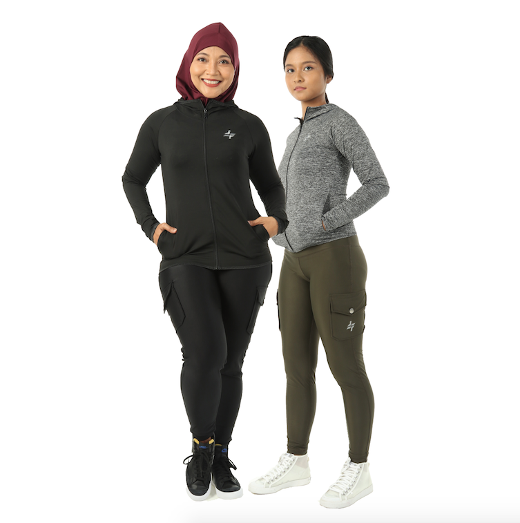 FitFab Cargo Leggings