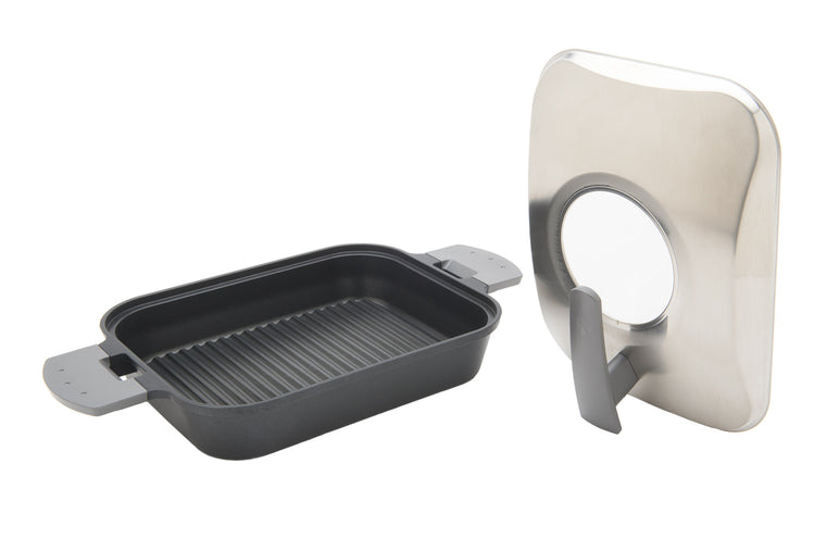 UchiCook Steam Grill with Stainless Steel Cover