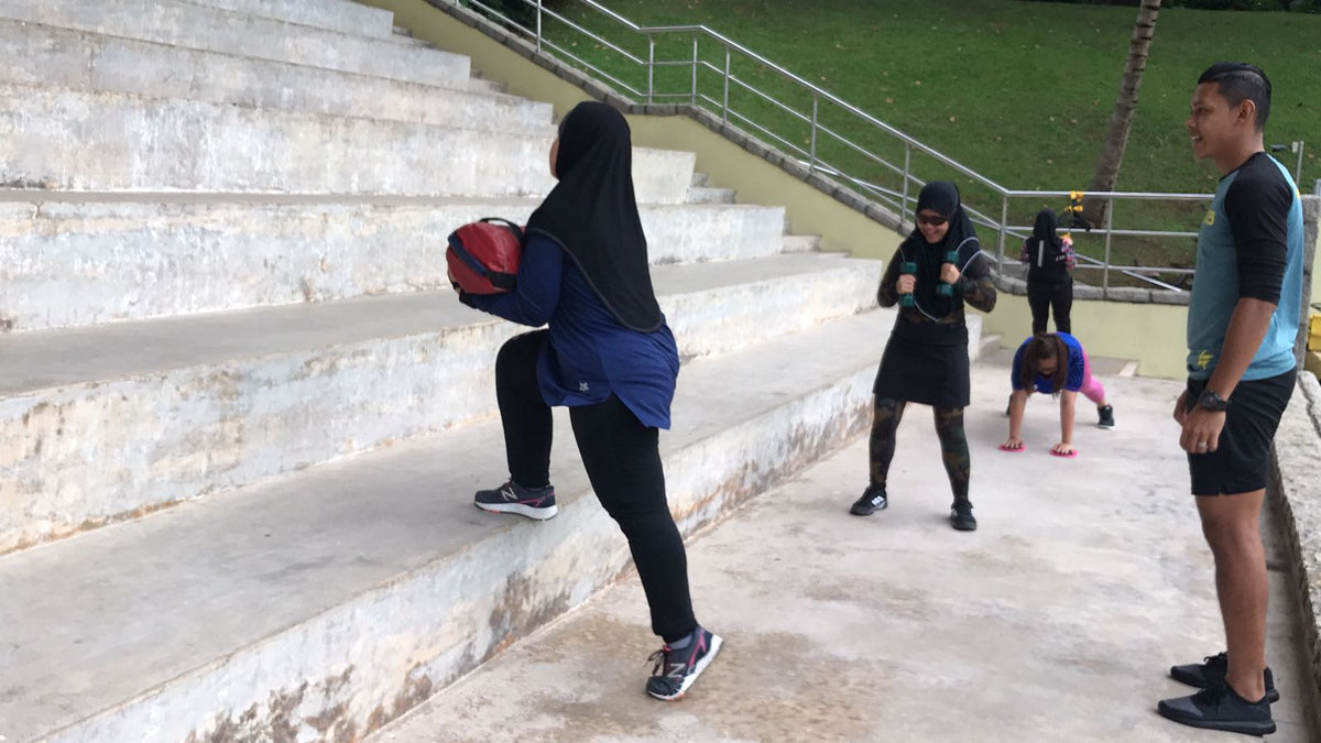 Woodlands Wonders FITFAB Weekend Bootcamp WOODLANDS By Coach Syaqir