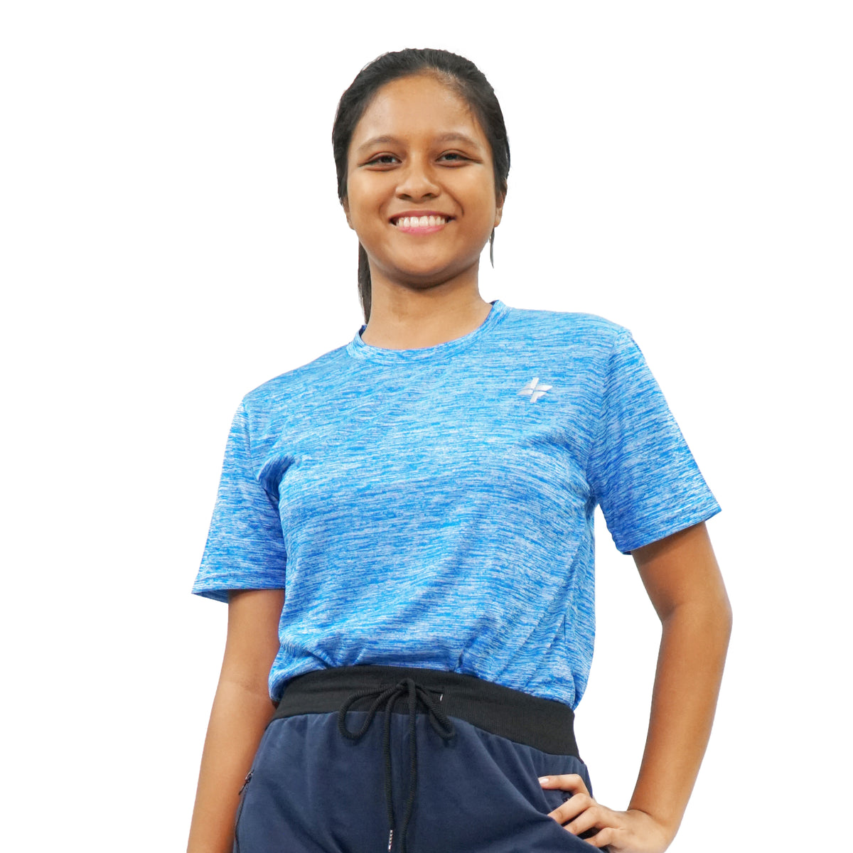 ActiveWear+ Short Sleeve Clear Blue