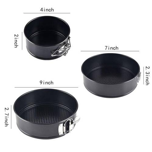 Round Cake Pan Set - 3 Piece