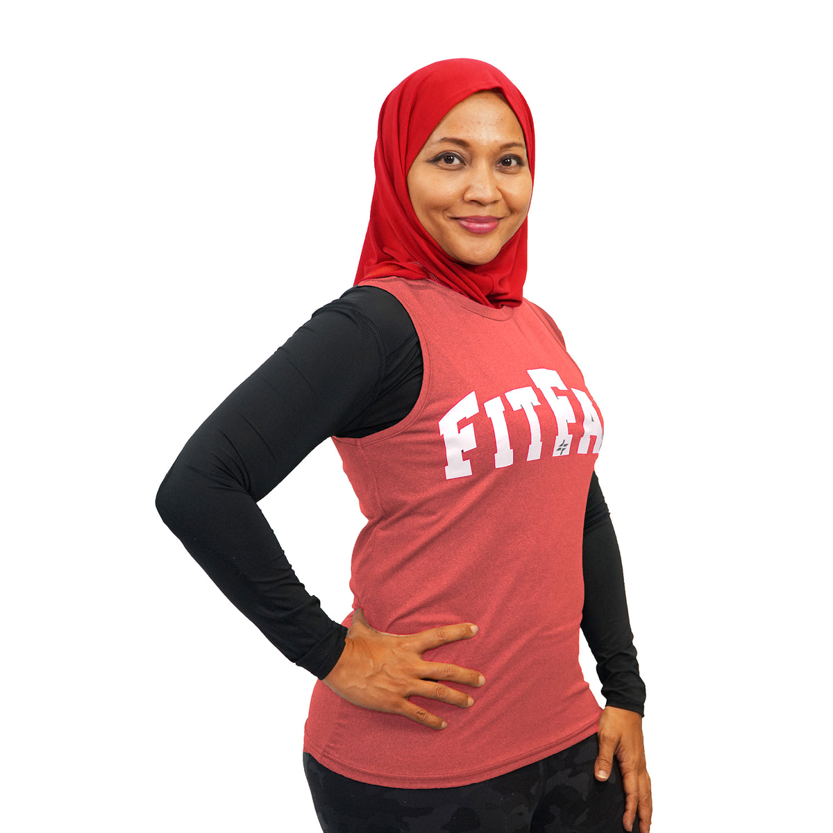 Powerlifting Top - Ready Red