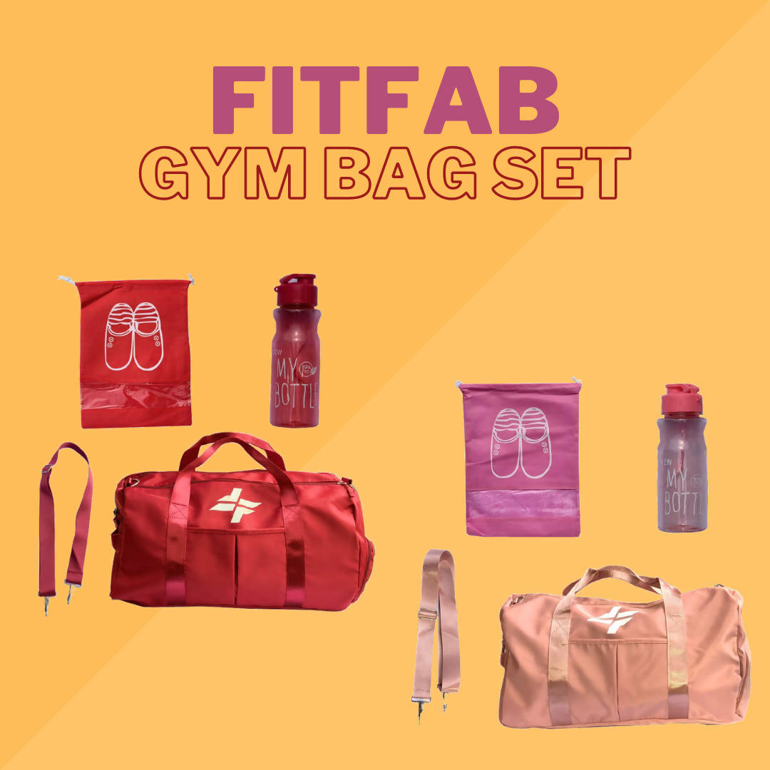 FitFab Gym Bag Set