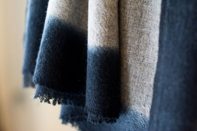 Cloud Cashmere Scarf - Gray