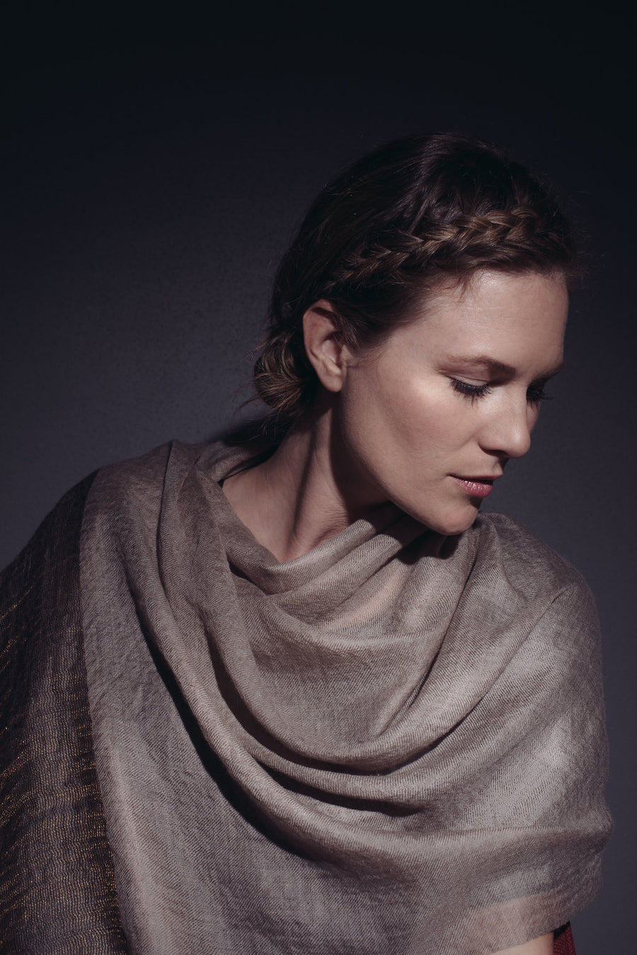 Heirloom Cashmere Scarf - Natural