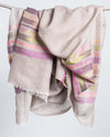 Ikat Natural Fine Wool Scarf