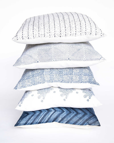 Prism Indigo Pillow
