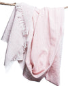 Malabar Pink Cotton Scarf