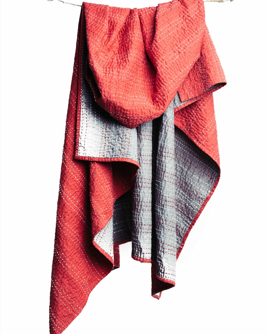 Barmer Kantha Throw