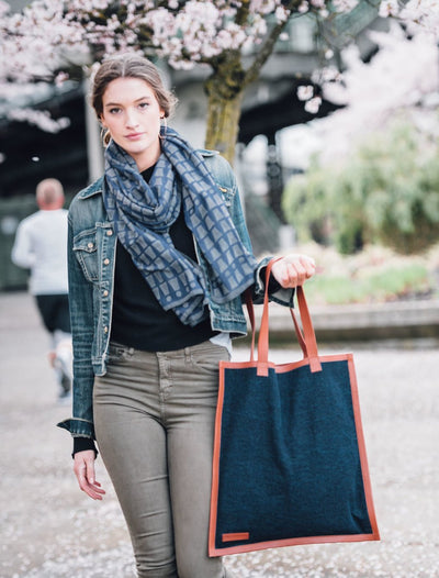 Elise Travel Tote - Denim