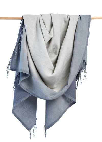 Ewa Throw/Blanket - Gray
