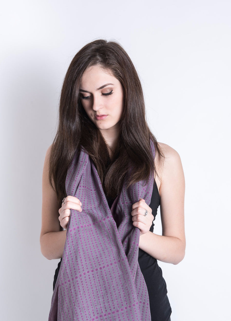 Paimona 2 Silk Cotton Scarf