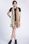 Tribute Woolen Scarf - Natural