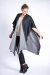 Lara Reversible Wrap - Black